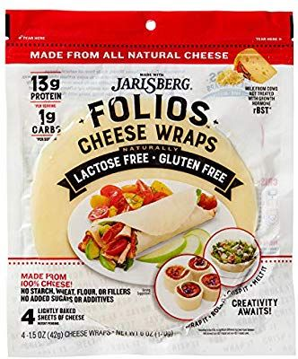 Folios All Natural 100 Jarlsberg Cheese Wraps Amazon Com