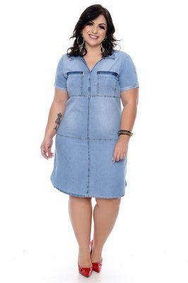 Chemisier Jeans Plus Size Cezini Plus Size Dresses Dresses Fashion