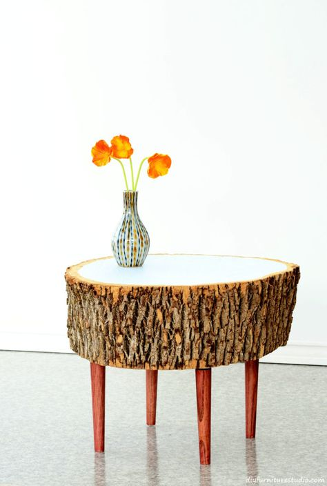 Making This Live Edge Stump Table Was A Challenging Endeavor For