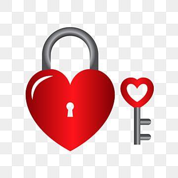 شكل قلب جميل قفل مفتاح ناقلات الحرة خلاصة القلب الحب Png والمتجهات للتحميل مجانا Shapes Vector Free Heart Shapes