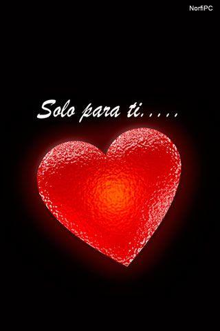 Fondo de pantalla para el teléfono celular: Mi corazón es solo para ti