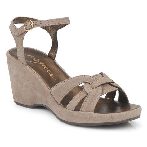 381d40cb10 Σανδάλια Espace MESMIN Grey - Δωρεάν αποστολή στο Spartoo.gr ! - Παπούτσια  Woman 144