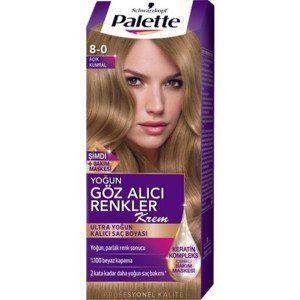 Palette Goz Alici Renkler Sac Boyasi 8 0 Koyu Sari Hair Serum