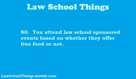 And Sometimes It Depends On What Kind Of Free Food Law School Memes Law School Humor Law School
