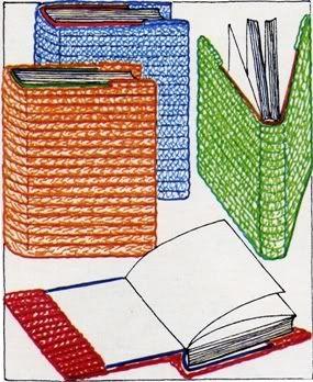 Per risparmiare e conservare meglio i nostri libri con un tocco di personalità e calore possiamo realizzare ad uncinetto delle copertine. Usate molti col