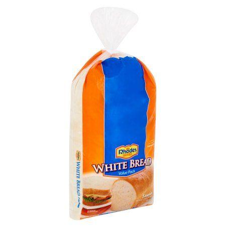 Food Rhodes Bread White Bread Bread