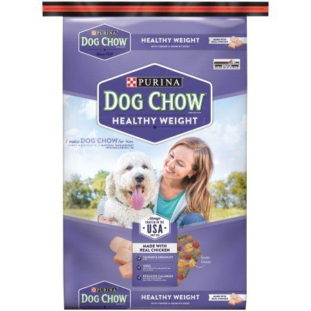 32 Lb Bag Pack Of 1 Purina Dog Chow Healthy Weight Dog Food Click Image For More Details This Is An Af Purina Dog Chow Dry Dog Food Dog Food Recipes