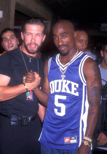 "With Stephen Baldwin. Tupac said he wished ""everybody success ."