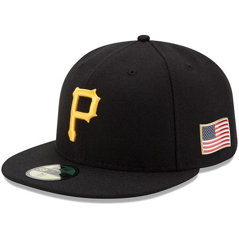 authentic quality cheaper recognized brands Pittsburgh Pirates New Era Authentic 9/11 59FIFTY Fitted Hat ...