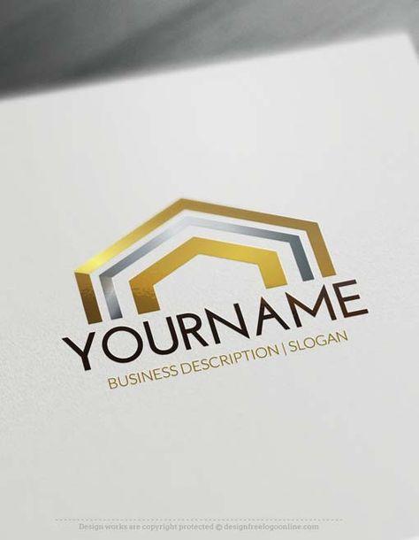 Online Free Logo Maker Rooftop Design Best Real