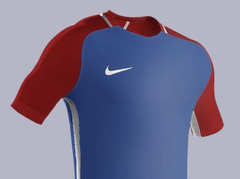 Football kit mockup PSD HD template full editable. Model  Nike Strike  Aeroswift c53a71020