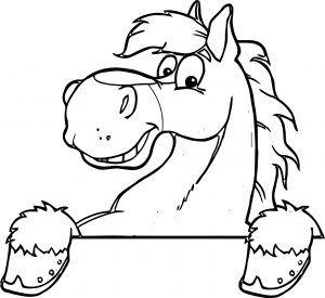 Horse Coloring Page Wecoloringpage 024 Horse Cartoon Horse Head Drawing Cartoon Drawings