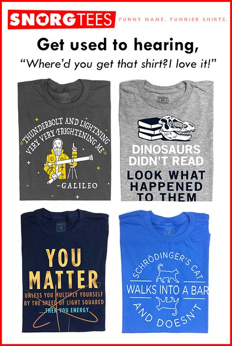 Funny Science T-Shirts, Hoodies & Tank Tops
