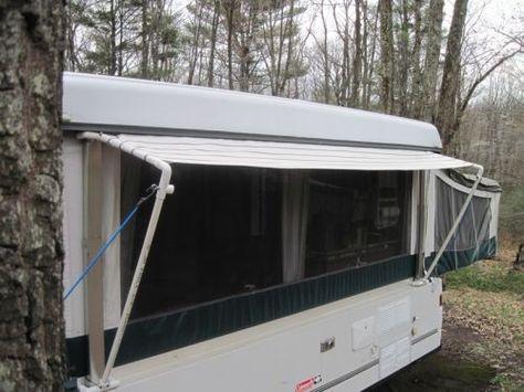 Back Awning Mod Camper Awnings Pop Up Tent Trailer Pop Up Camper