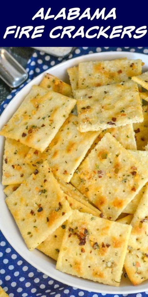 Alabama Fire Crackers – 4 Sons 'R' Us Looking for a fun new snack idea? These Alabama Fire Crackers are easy to mix up and full of flavor. A little bit spicy, a lot savory, they're the real deal. Finger Food Appetizers, Appetizers For Party, Appetizer Recipes, Snack Recipes, Cooking Recipes, Crackers Appetizers, Finger Food Recipes, Crack Crackers, Appetizer Dessert