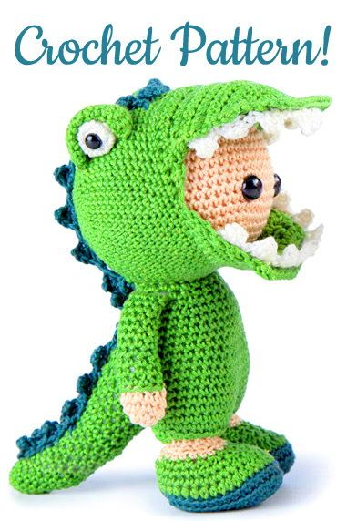 Dinosaur Crochet Patterns – For Your Dino Lover - A More Crafty Life   572x381