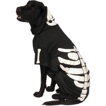Pets Pet Costumes Skeleton Hoodie Dog Halloween Costumes