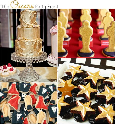Party food ideas for the Oscars at { anightowlblog.com }