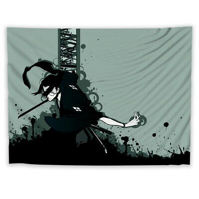 Samurai Champloo Jin Tapestry Art Wall Hanging Cover Poster Hanging Wall Art Samurai Champloo Tapestry Art