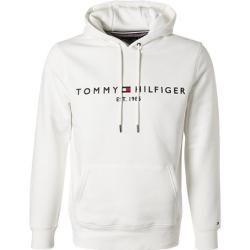 Tommy Hilfiger Kapuzen Pullover Herren Baumwolle Weiss Tommy Hilfigertommy Hilfiger Jungs Hoodies Tommy Hilfiger Hoodie Pullover