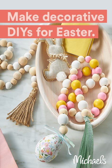 Create a happy handmade Easter with art and craft supplies from Michaels.