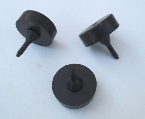 Gm Trunklid Decklid Rubber Bumper Stops 2 4721222 0 800 Diameter Txdashcovers Rubber Bumper Black Rubber Rubber