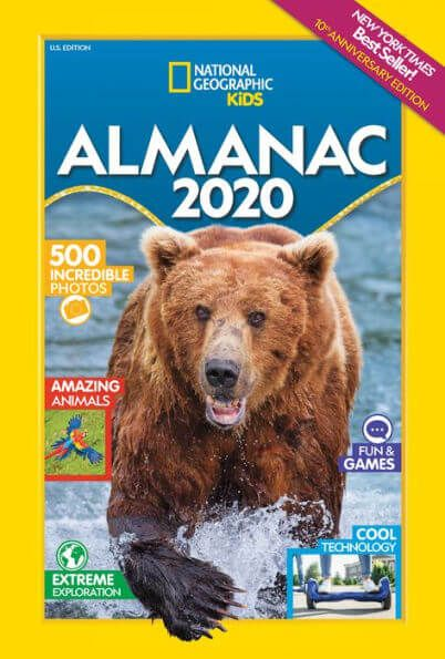 Nyt Best Sellers 2020 National Geographic Kids Almanac 2020 Summer On The Go Bundle