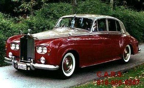 1965 Rolls Royce Silver Cloud Iii Saloon Rolls Royce Rolls
