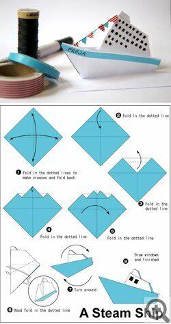 6 Luchshih Shem Bumazhnyh Korablikov Podelki Iz Bumagi Origami Bumazhnye Korabliki Remesla