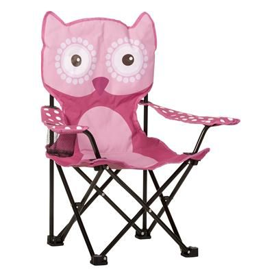 Jackeroo Kids Owl Camp Chair Camping Chairs Chair Owl