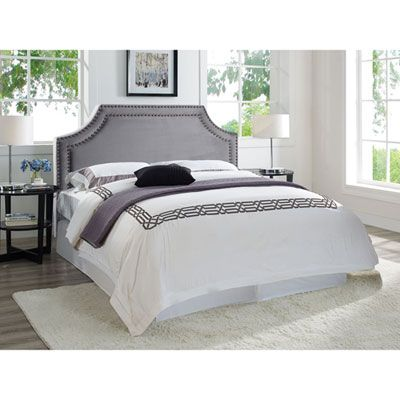 London Modern Upholstered Headboard Double Grey King Headboard Headboards For Beds Home Decor