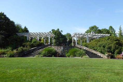 The Tower Hill Botanic Garden, in Boylston, MA, USA, is a 132-acre ...