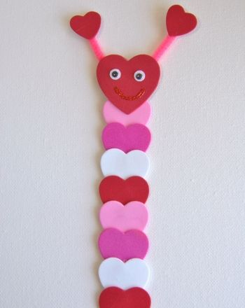 Activities: Valentine Bookmark Craft