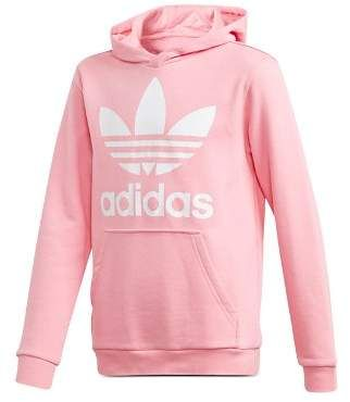 Adidas Unisex Trefoil Hoodie - Big Kid | Adidas girl, Adidas ...