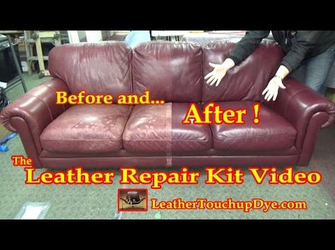 Fix Cracking Leather Leather Repair Video Youtube Videolar