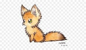 Image Result For Arctic Fox Background Drawing Cute Fox Drawing
