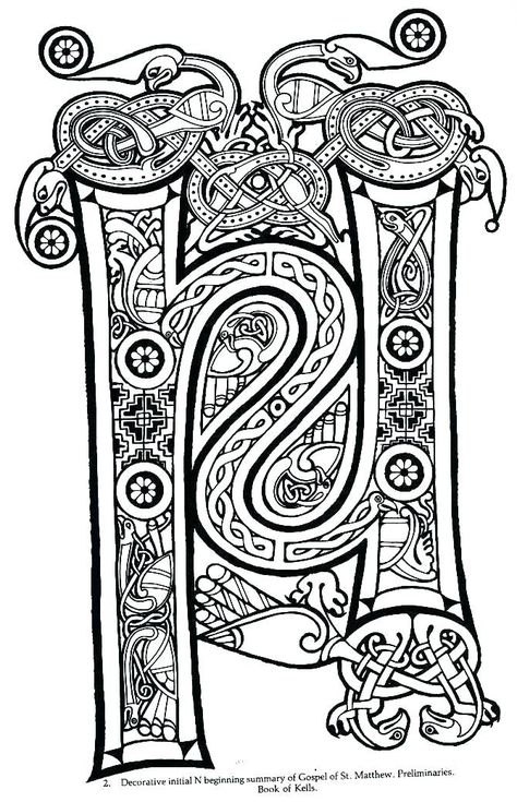 List of book of kells coloring pages art pictures and book ...
