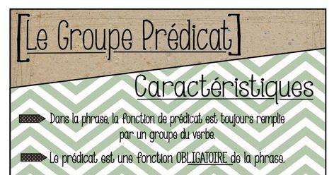 Affichage - Grammaire - Le prédicat.pdf (avec images ...