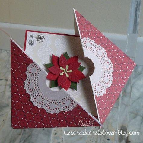 Challenge Carte Cadeau Carte Noel Cartes De Noel Faites Maison
