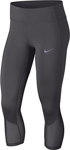 Nike Damen Racer Cool Hose, Gunsmoke | Nike Power Material
