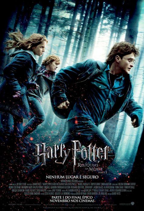 Harry Potter E As Reliquias Da Morte Cartaz Harry Potter Harry