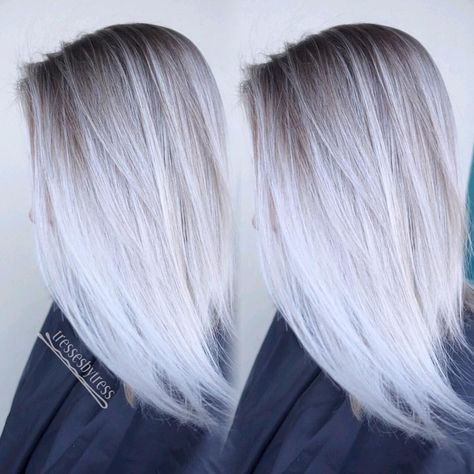 Haare weiß blonde weiß blond