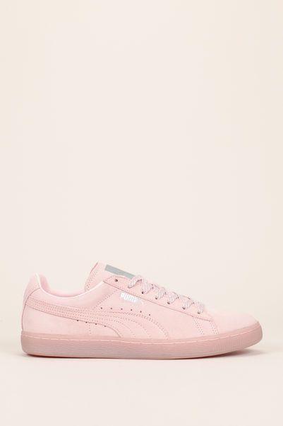 puma suède rose pâle