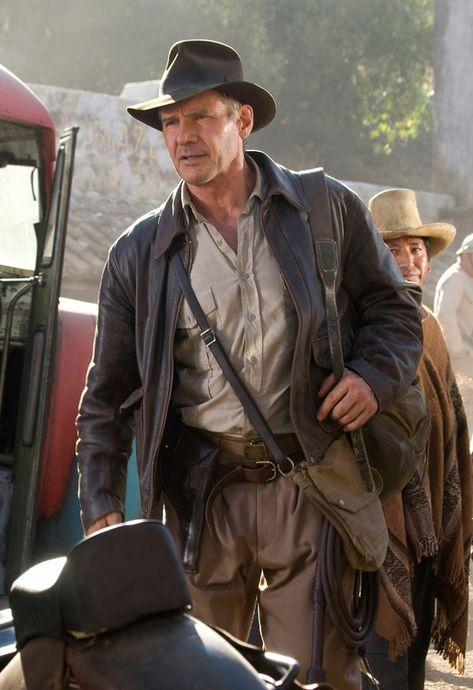 Mens Indiana Jones Harrison Ford Jacket