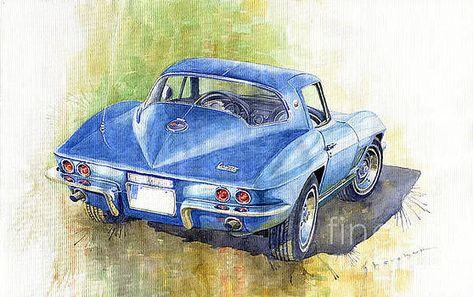 1967 Chevrolet Corvette C2 Stingray by Yuriy Shevchuk