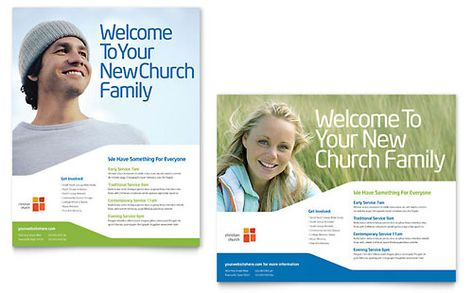 Church Youth Ministry Poster - Word Template \ Publisher Template - microsoft poster template