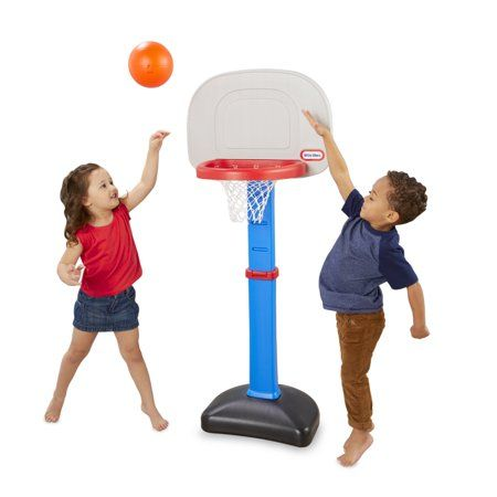 Little Tikes Totsports Easy Score Toy Basketball Set Walmart Com Little Tikes Backyard Toys Fun Games For Kids