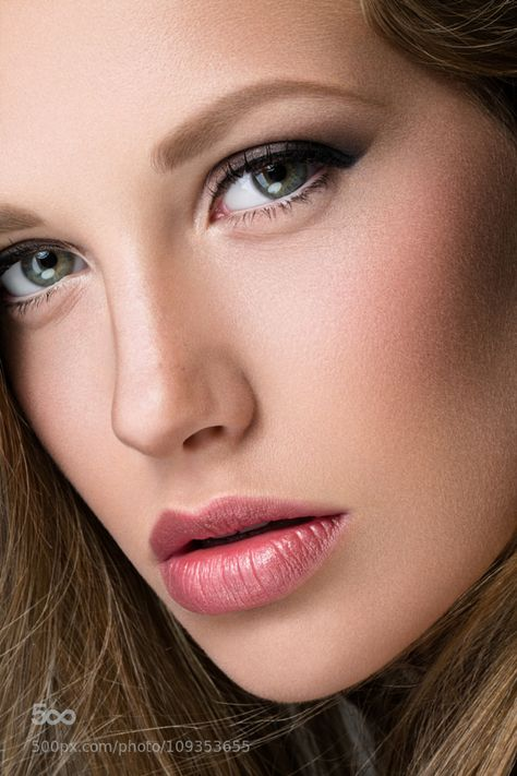 Female beauty, powerful face, intense eyes, strong, expression ...
