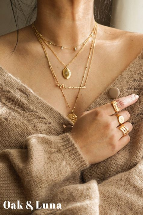 Mar 2020 - Designed for your everyday adventures ✨ Make it yours, literally. Jewelry Trends, Jewelry Accessories, Fashion Accessories, Fashion Jewelry, Paris Chic, The Bling Ring, Layered Jewelry, Layering Necklaces, Accesorios Casual