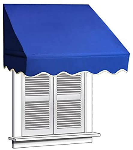 New Aleko 4x2 Navy Blue Window Awning Door Canopy 4 Foot Decorator Awning Patio Furniture 49 99 Prettytrendyfas In 2020 Window Awnings Door Canopy Aluminum Awnings